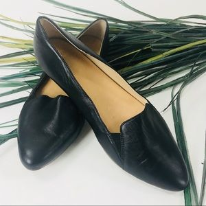 Dr. Scholl's. Black leather loafers